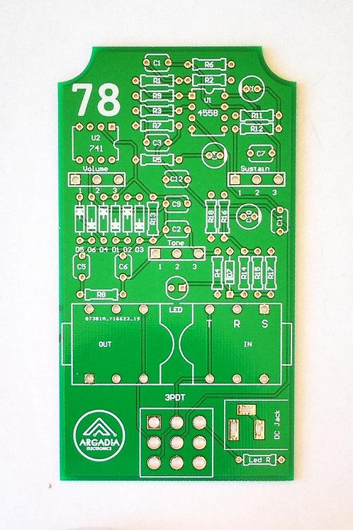 DIY IC *B-Muff Fuzz/Distortion - PCB Only