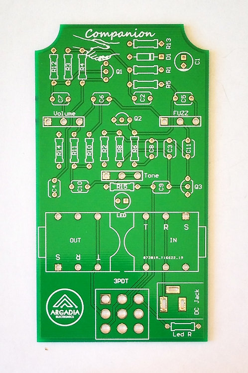 DIY T-Screamer Overdrive -PCB Only