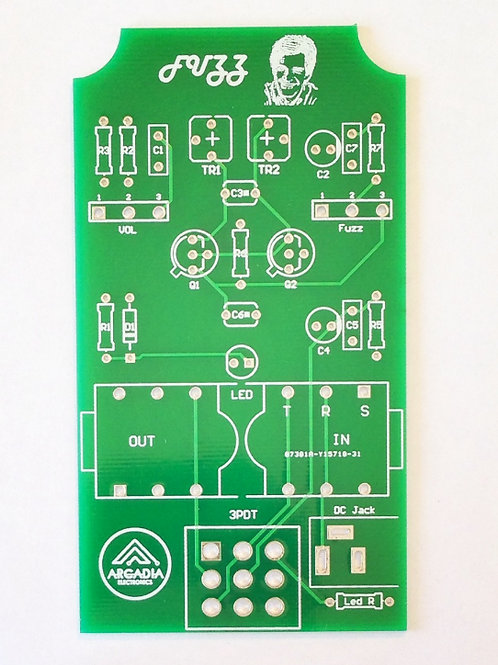 DIY Silicon Fuzz-Face BC108 - PCB Only