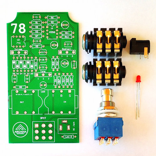 DIY IC *B-Muff  Fuzz pedal Kit -PCB And more