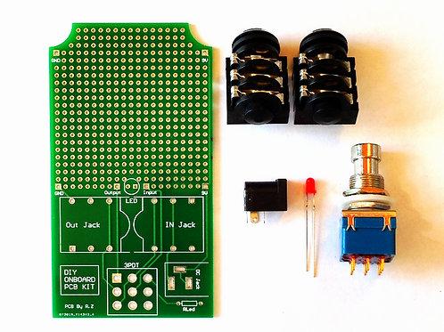 DIY Universal Effect pedal Kit- Onboard PCB