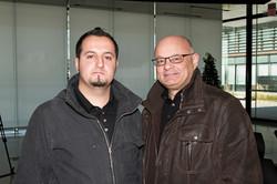 Giancarlo Raso and Ross Marin