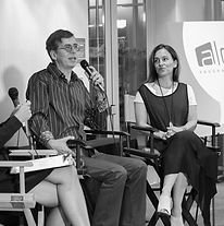 Script to Screen with Kirk Ellis (John Adams, Into the West) and Amy Jo Johnson (Power Rangers, Felicity, Flashpoint)