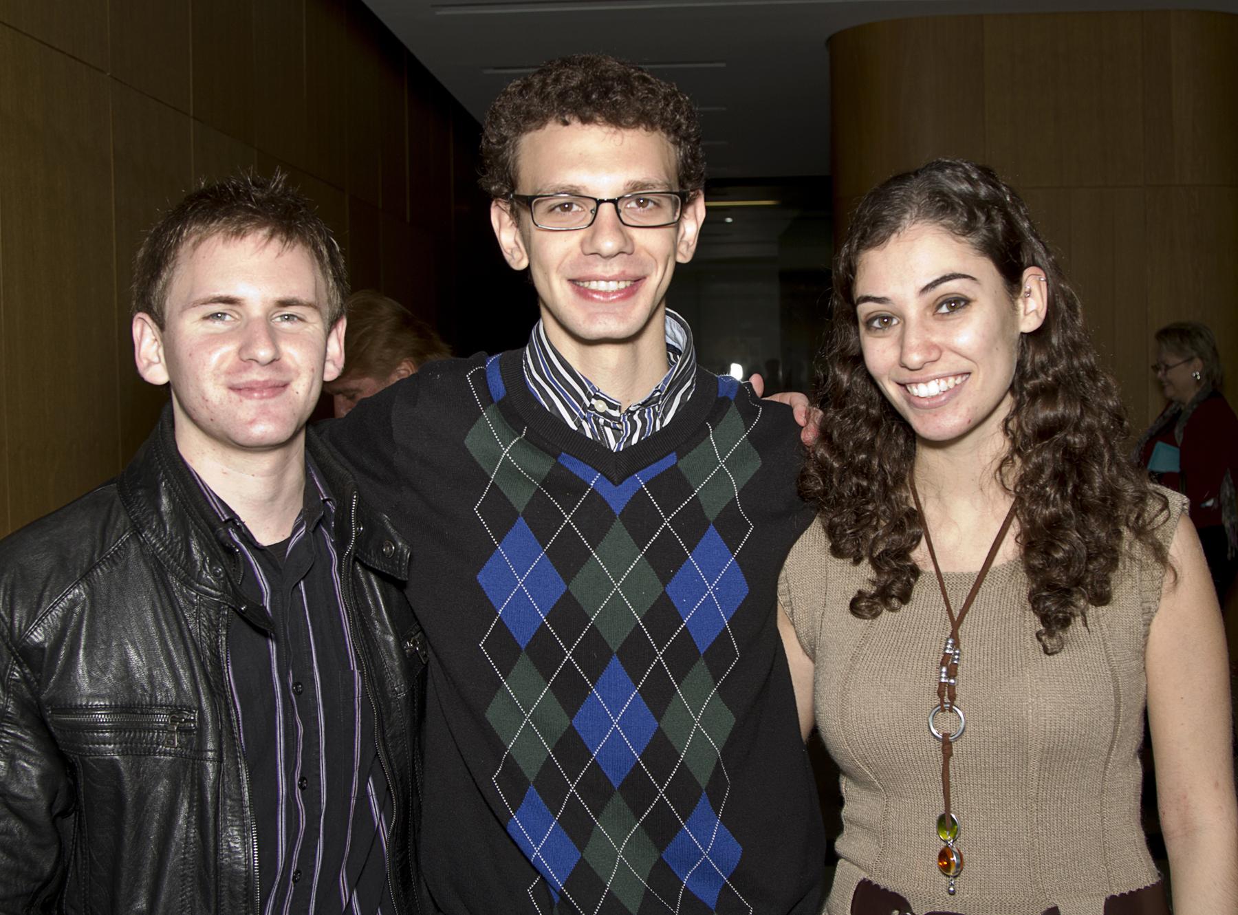 Adam Singer, Michael Like and Melissa Koutsaris