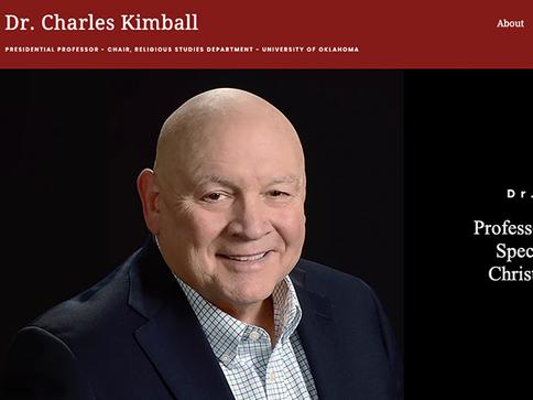 DR. CHARLES KIMBALL