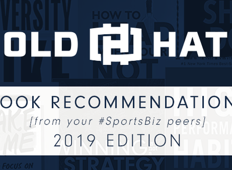 Old Hat Tips n' Tricks - 2019 Book Recommendations