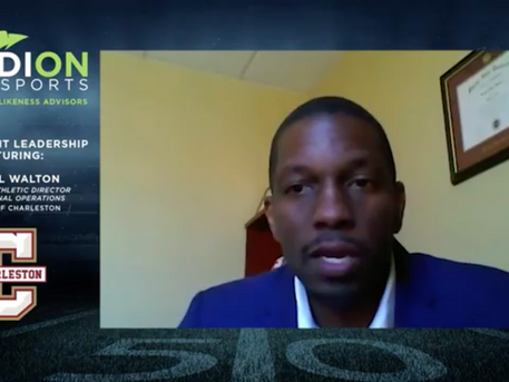 NIL Insights from Jamaal Walton, Assoc. AD for External Operations, College of Charleston