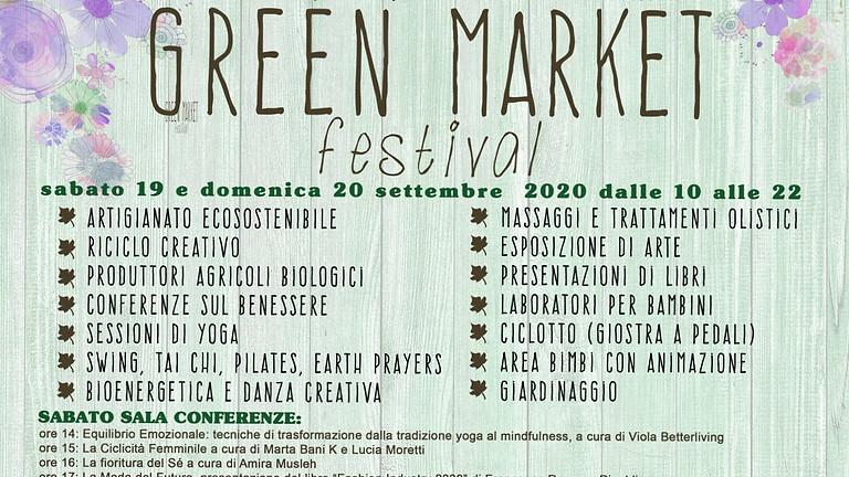 Conferenza al Green Market Festival