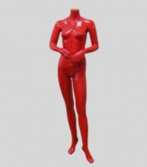 манекен женский без головы с согнутой ру