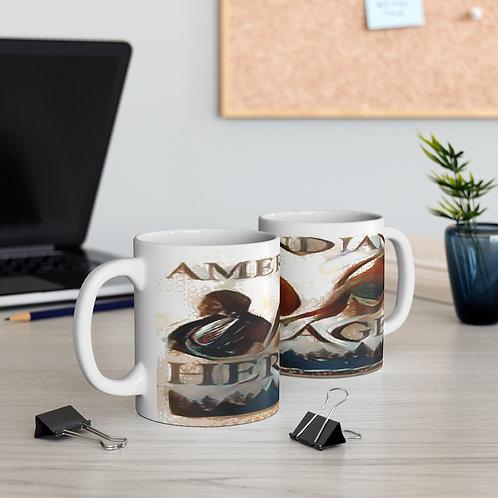 Amerindian Heritage Mug 11oz