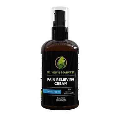Oliver's Harvest CBD - CBD Topical - Capsaicin Pain Cream - 300mg-600mg