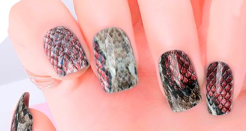 Snakeskin Nail Wraps