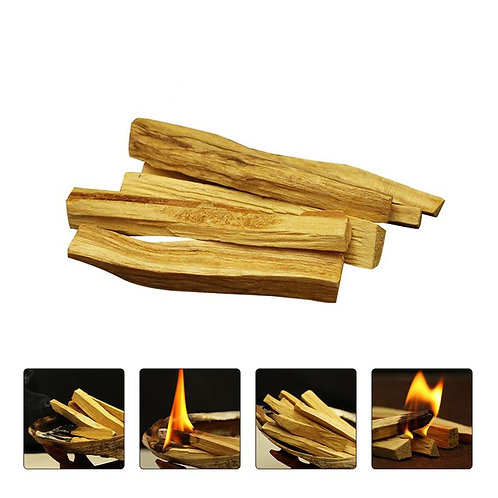 1/6Pc Palo Santo Natural Incense Smudging Sticks for Purification