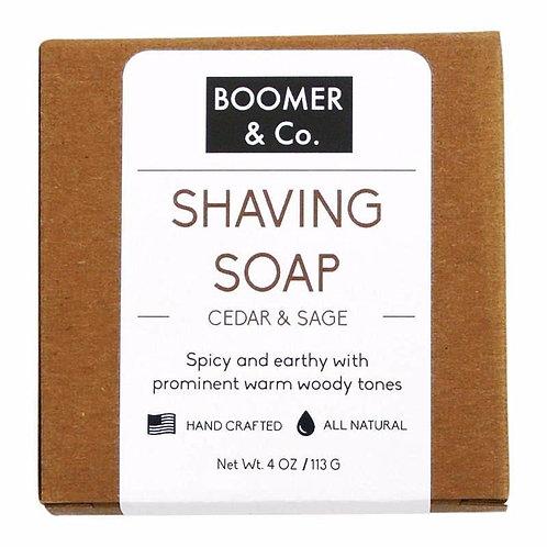Cedar & Sage Shaving Soap Bar