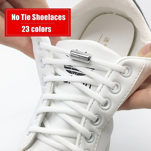 Elastic No Tie Shoelaces for Kids and Adult Sneakers