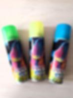 Спрей-краска неоновая для волос