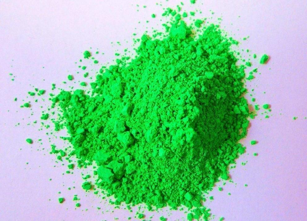 Флуоресцентный порошок NL зелёные