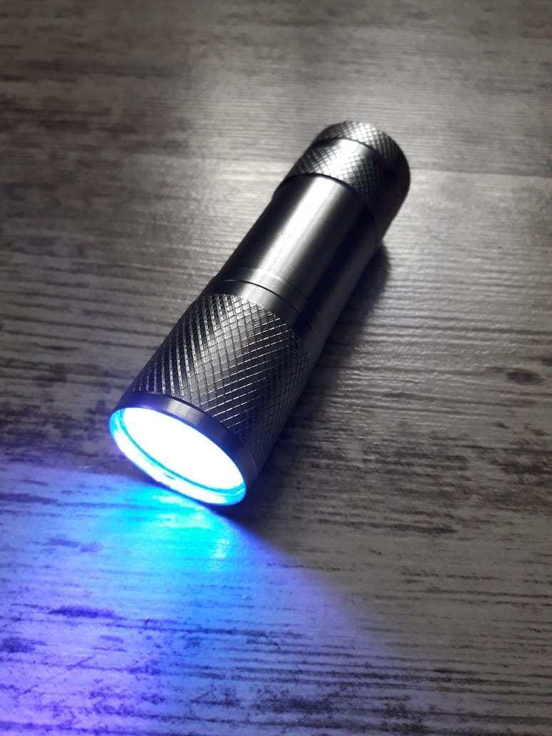 """Ультрафиолетовый фонарик NL """"Metallic"""" серий"""