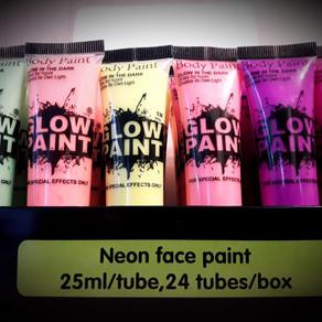 Неоновый грим для лица Glow Paint 25 мл.