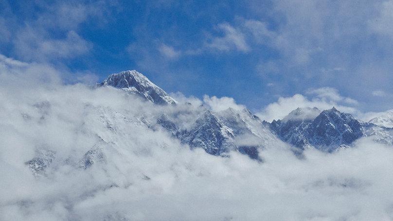 Anna Radaschütz Georgien Georgia Katsbegi Kaukasus Mountain