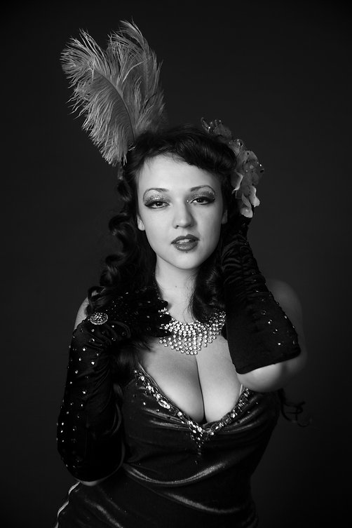 Burlesque Portrait Studio Anna Radaschütz