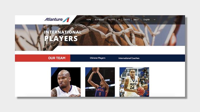 Online Profiles of International Players