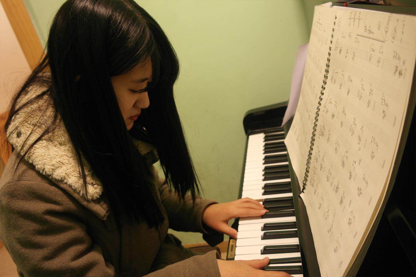 피아노 연습실