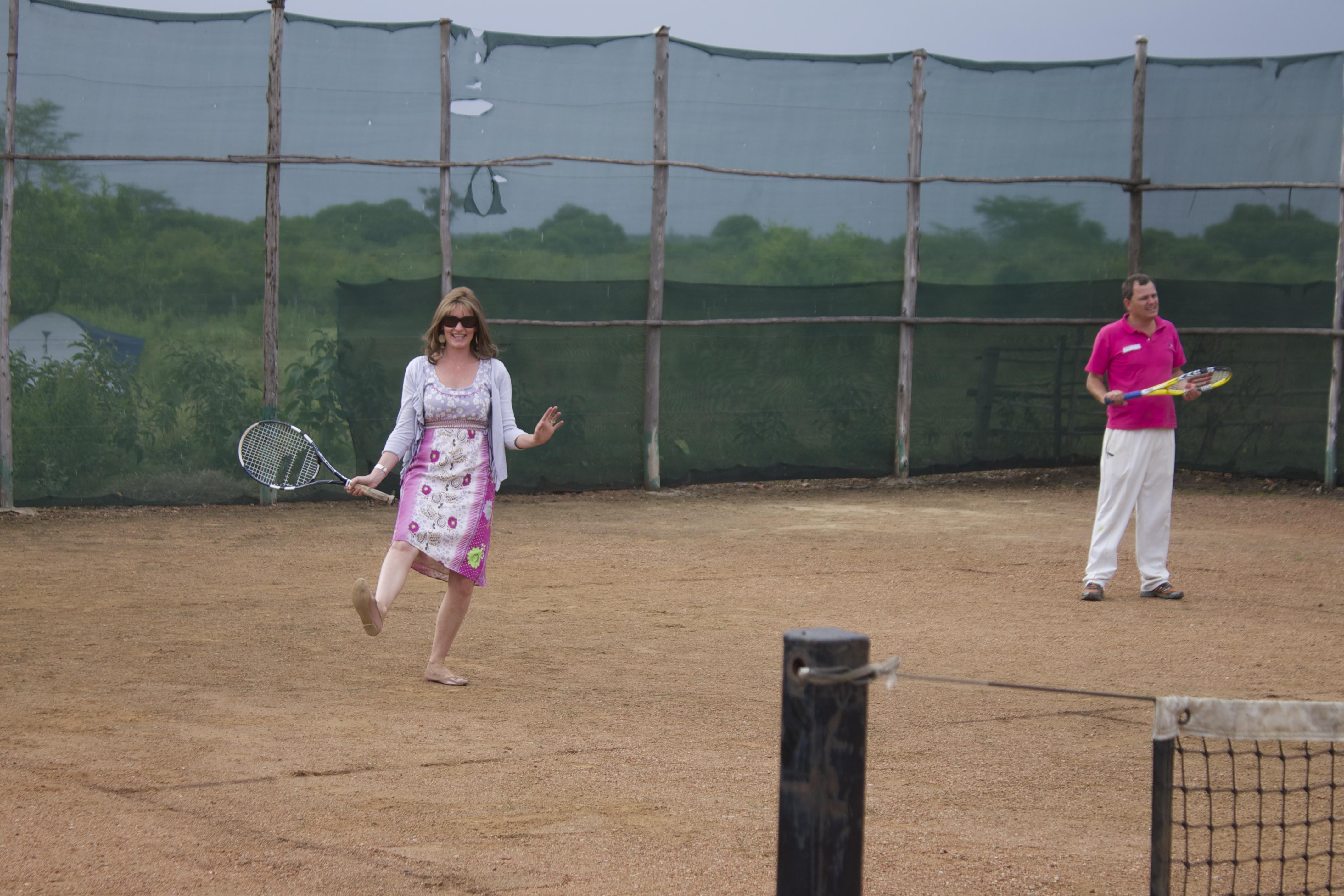 tennis pro!