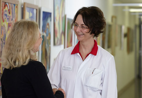 Leitende Ärztin Frau Dr. Dr. Marini