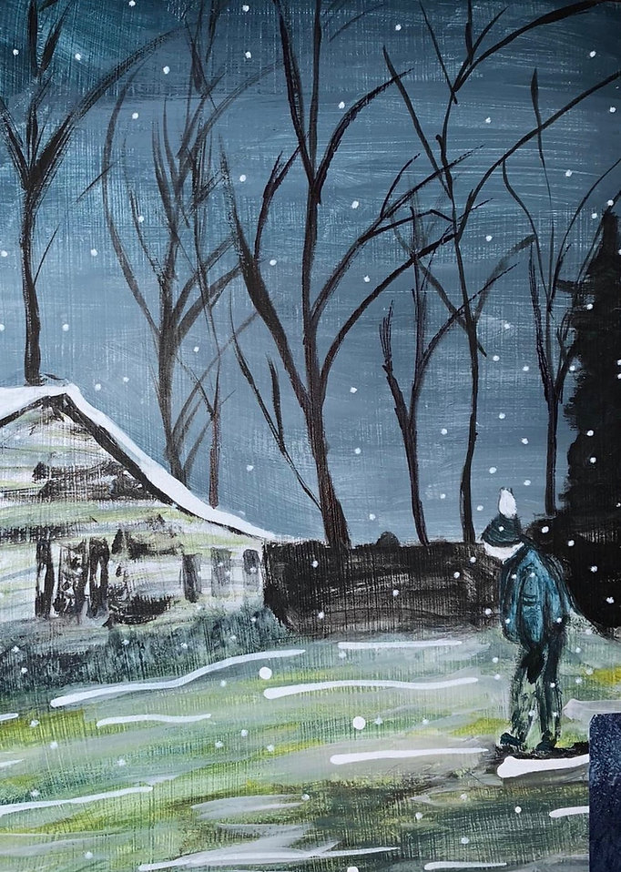 Rosie W Independent study 1 Peter Doig i