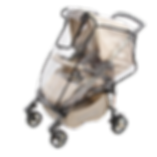 Силиконовый дождевик на коляску