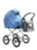 Тканевый дождевик на коляску