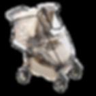 Дождевик на коляску из пленки ПВХ