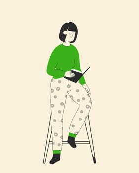 Branded Illustrations for Online Education