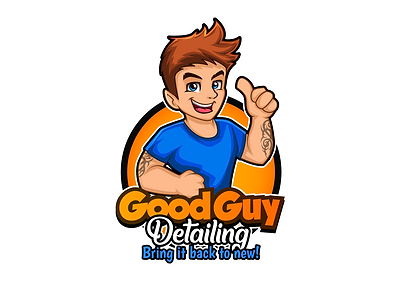 Good Guy Detailing Logo - Auto Detailing Services
