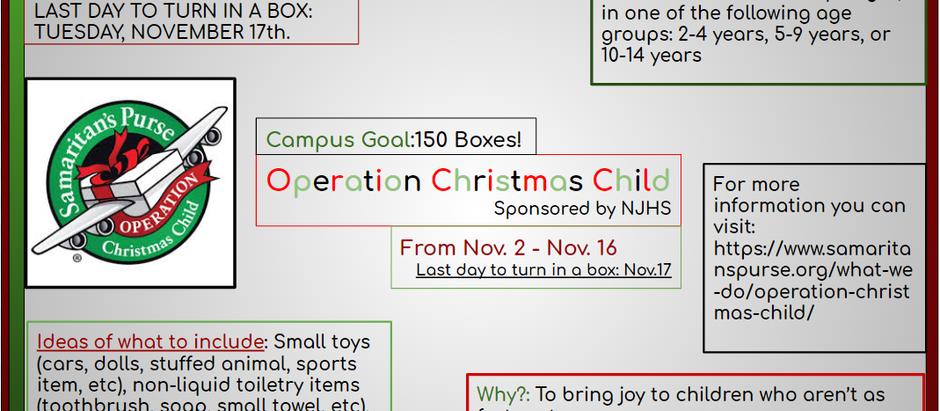 Operation Christmas Child!