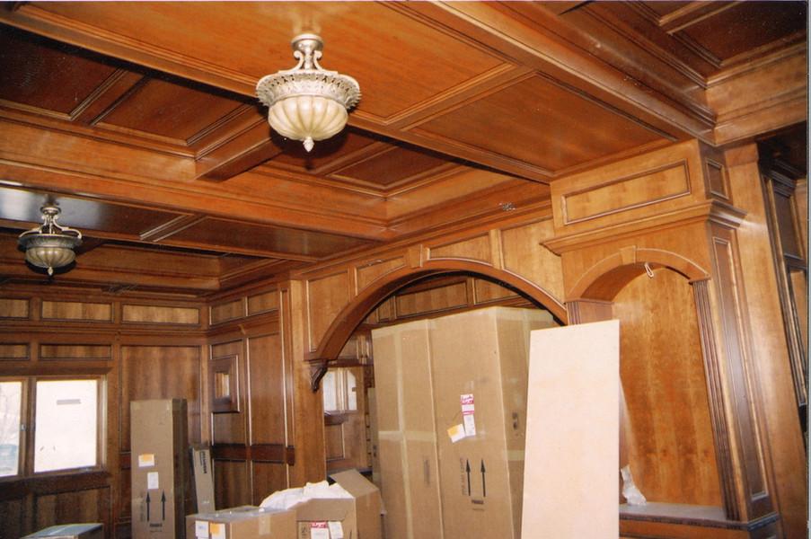 SJS Custom coffered ceiling, Denver CO