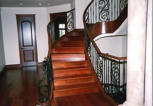 custom stairs, doors, trim & pillar, SJS Stair & Millwork, Denver, Coloradojpg