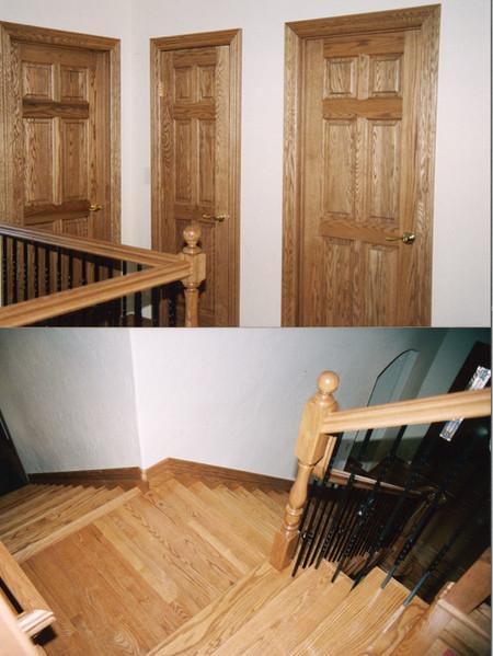 custom doors, trim & floors