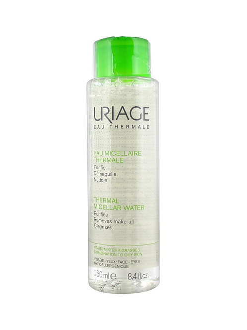 uriage thermal water removes make up mixed - 250 ml
