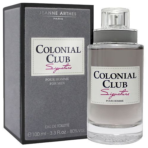 Colonial Club Signature - EDT - For Men - 100ml