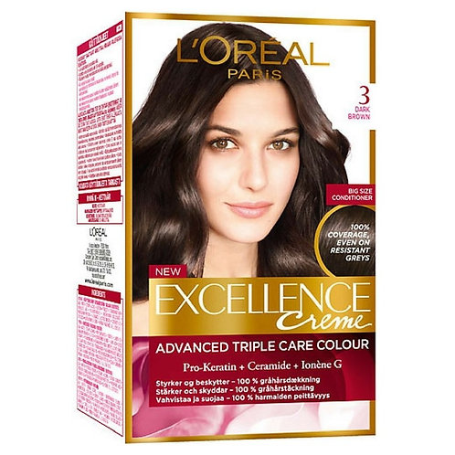 L'Oreal Excellence 3 Dark Brown