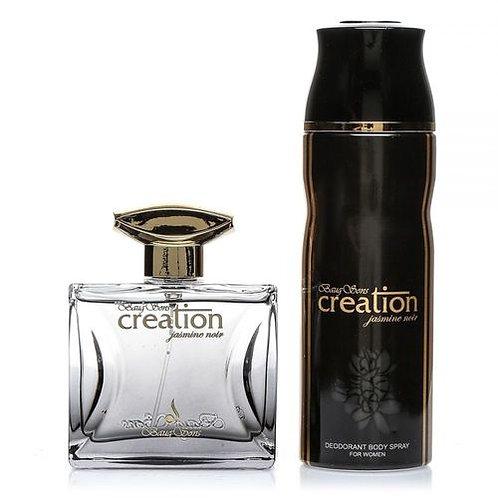 Creation Jasmine Noir - EDP - For Women - 100ml + Deo Spray - 200ml