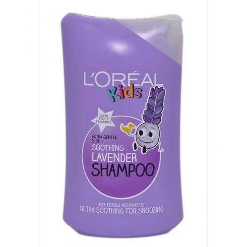 LOREAL KIDS SOOTHING LAVENDER SHAMPOO 250ML