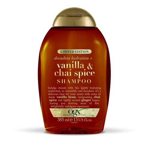 Vanilla Chai Spice Shampoo - 385 Ml