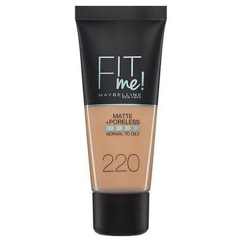 Fit Me Foundation - 220 Natural Beige