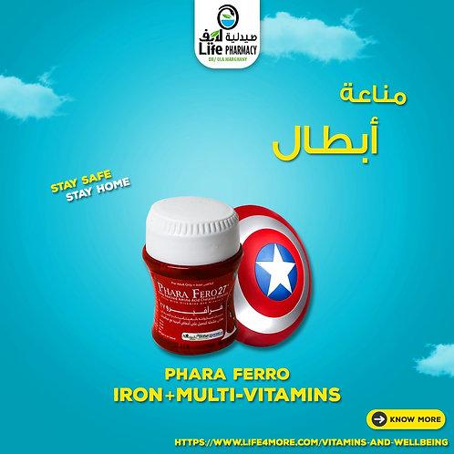 Phara ferro Iron+ Multi Vitamins