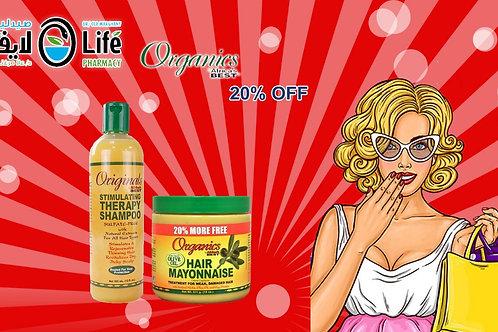Organics Mayonnaise shampoo and Mask Offer