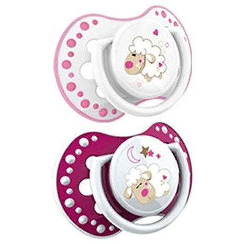 lovi silicone dynamic soother  0-3m girle - 22/809