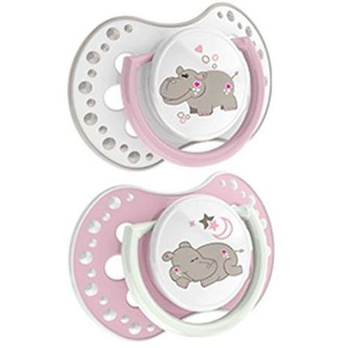 lovi silicone dynamic soother  3-6m girle - 22/810